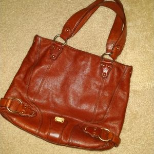 $ale! Gorgeous MK Premium Leather Purse EUC!!